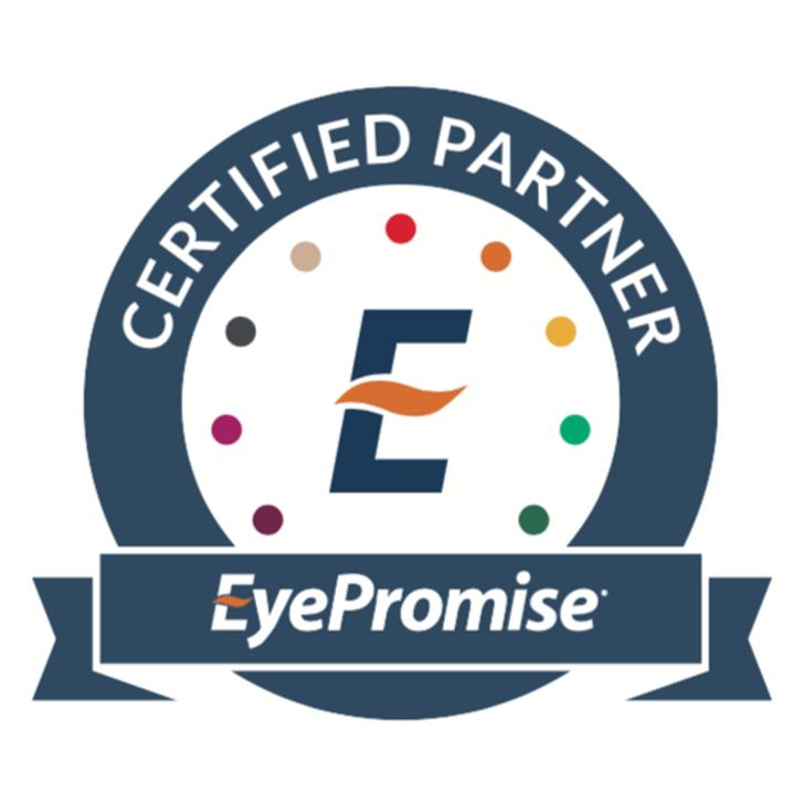 EyePromise Certified Partner Window Cling