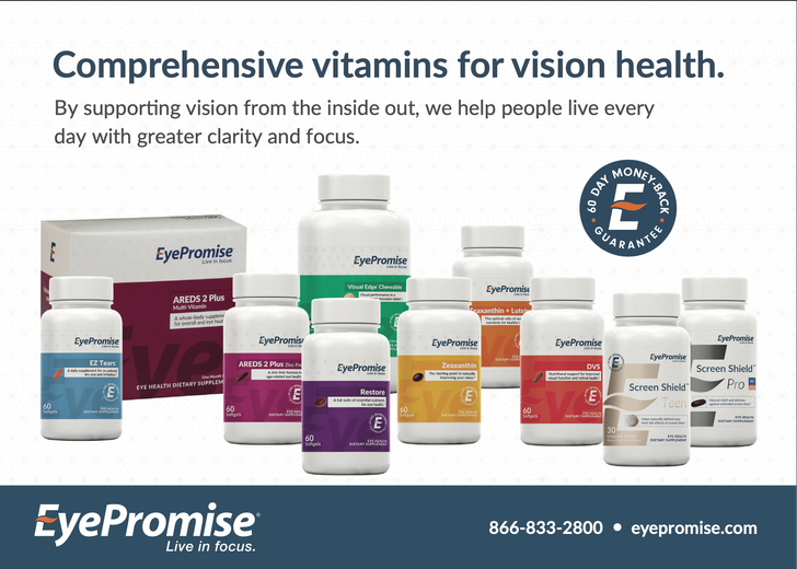 Customizable EyePromise Auto Refill How-to-Order Card