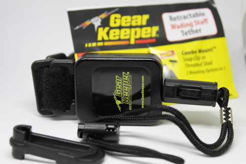 Gear Keeper Retractable Wading Staff Tether