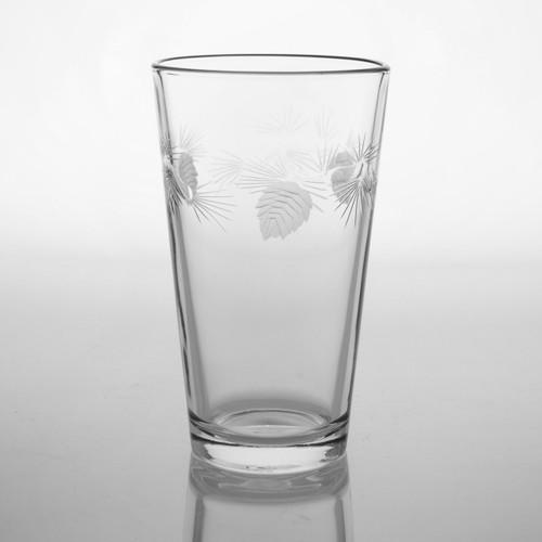 Ice Pine Cone Pint Glass