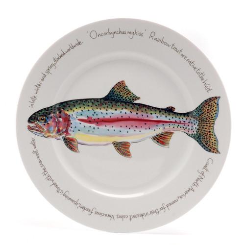 Rainbow Trout Presentation Plate