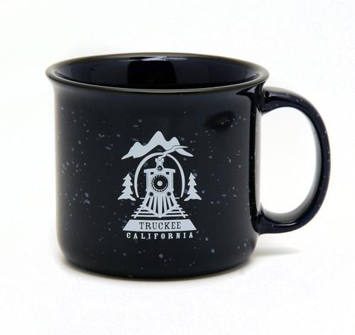 Truckee Campfire Mug Cobalt