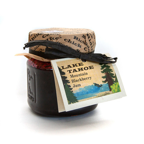 Lake Tahoe Mountain Blackberry Jam 8 oz.