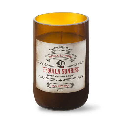 Tequila Sunrise Candle