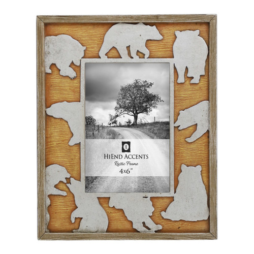 Bear Frame Cutout