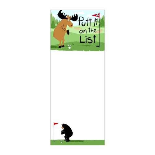 Putt It on the List - Magnetic