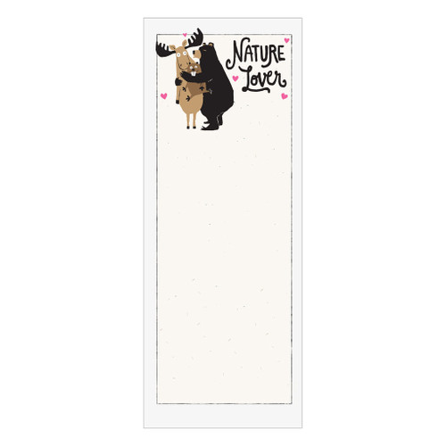 Nature Lover Notepad - Magnetic