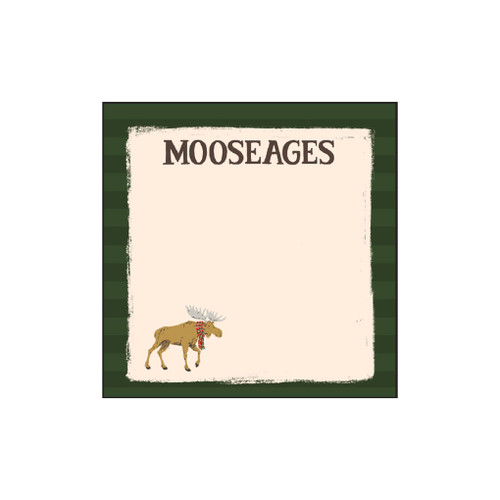Winter Moosages Sticky Notes