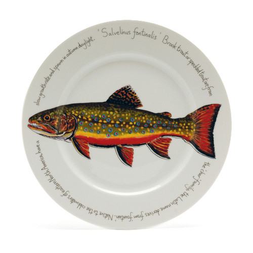 Brook Trout Presentation Plate