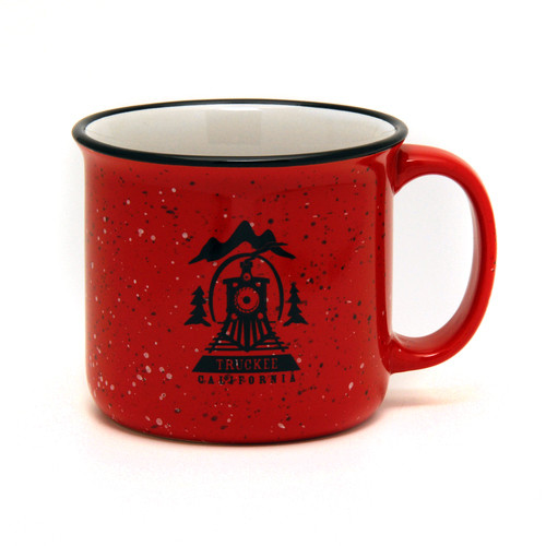 Truckee Campfire Mug Red