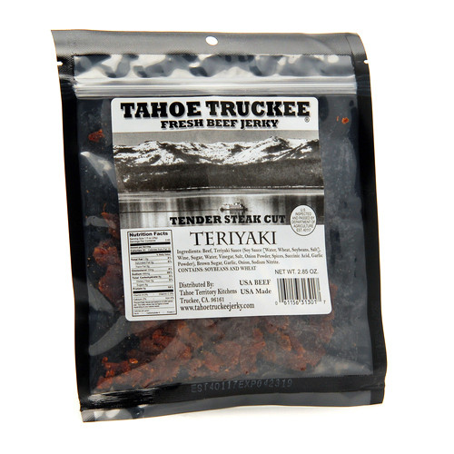 Tahoe Truckee Teriyaki Jerky