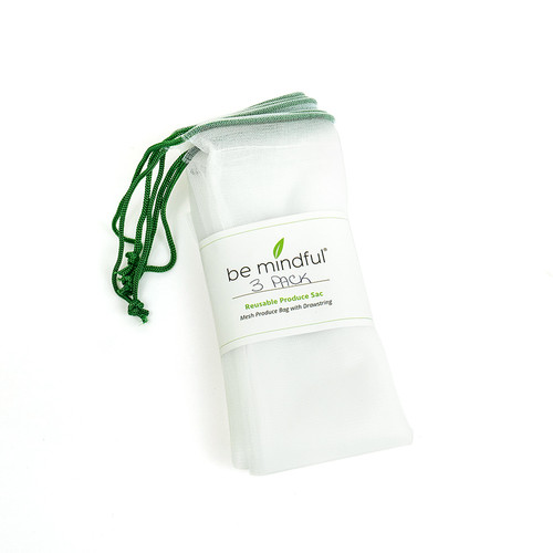 Be Mindful Reusable Produce Bag - 3 Pack
