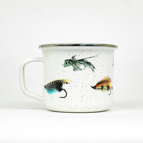 Fly Fishing Steel Mug