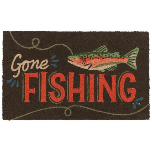 Gone Fishin Doormat