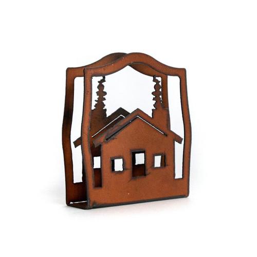 Cabin Napkin Holder