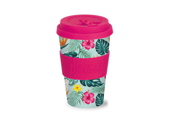 iDrink Bamboo Cup Tropical κούπα 435ml | bookcorner.gr