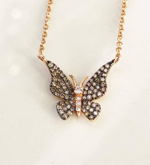 butterfly pendent picture close up