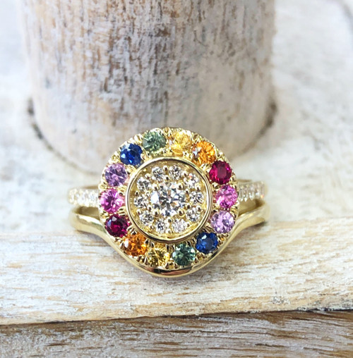 Rock Star Custom Engagement Ring!