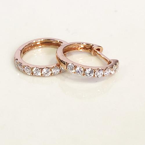 Insta Good Diamond Huggie Earring