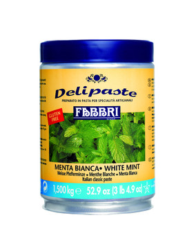 Fabbri Delipaste - Mint 1.5kg