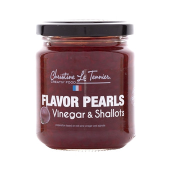 Christine Le Tennier Flavor Pearls - Wine Vinegar & Shallots