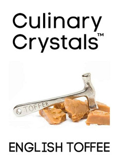 Culinary Crystals - English Toffee Flavor Drops