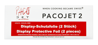 PACOJET Protective Foil for Pacojet 2 Display - 2 pack