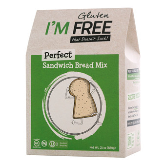 I'm Free Perfect Sandwich Bread Mix