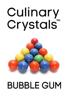 Culinary Crystals - Bubble Gum Flavor Drops