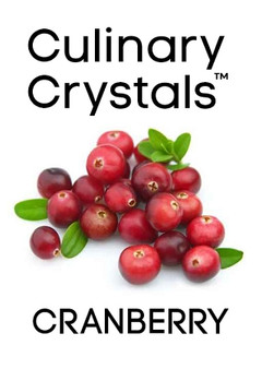 Culinary Crystals - Cranberry Flavor Drops