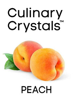 Culinary Crystals - Peach Flavor Drops