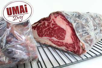 Umai Dry Ribeye & Strip Steak Dry Aging Bags
