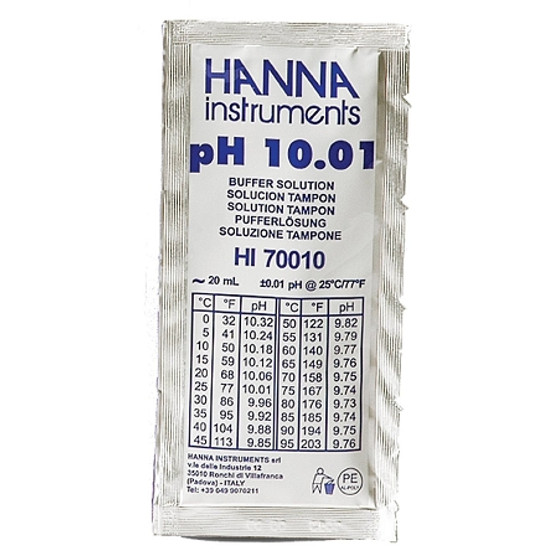 pH Buffer Solution - 10.01