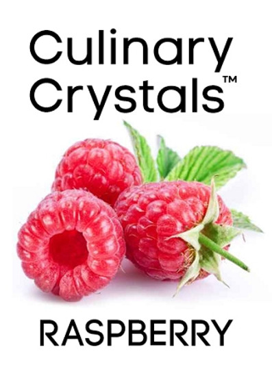 Culinary Crystals - Raspberry Flavor Drops