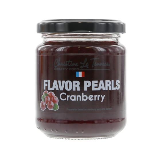 Christine Le Tennier Flavor Pearls - Cranberry