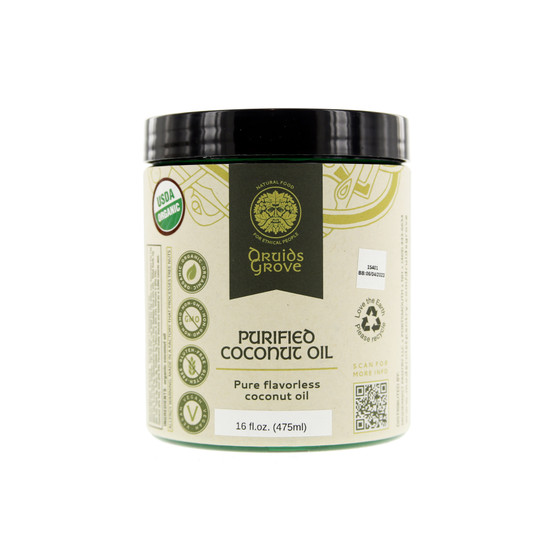 Druids Grove Purified Coconut Oil (Organic)
