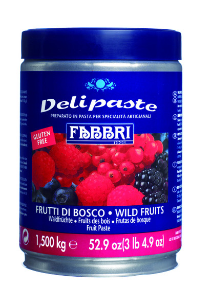 Fabbri Delipaste - Wild Fruits 1.5kg