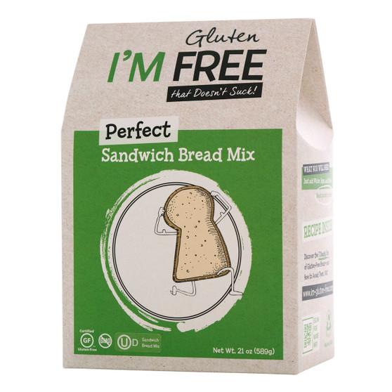 I'm Free Perfect Sandwich Bread Mix