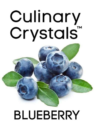 Culinary Crystals - Blueberry Flavor Drops