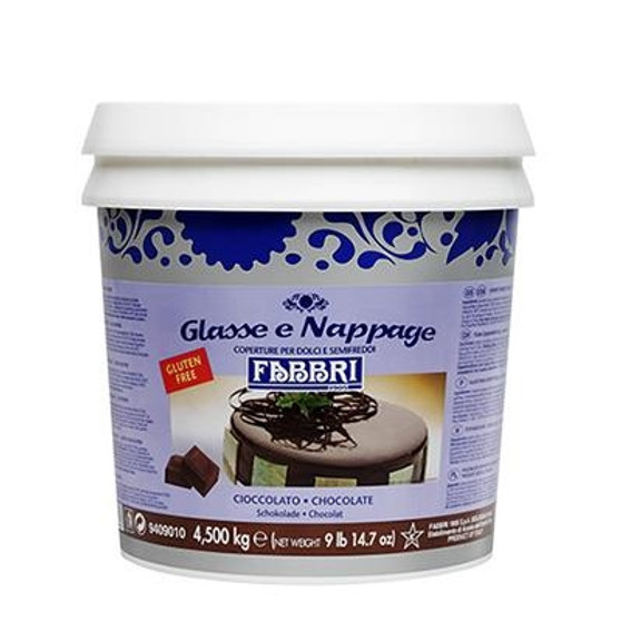 Fabbri Glaze - Chocolate Icing 4.5kg