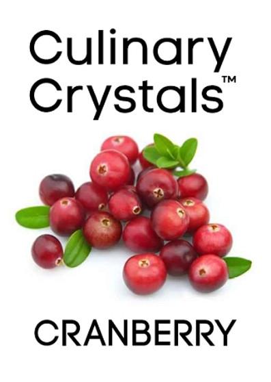 Culinary Crystals - Cranberry Flavor Drops