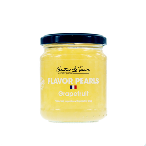 Christine Le Tennier Flavor Pearls - Grapefruit