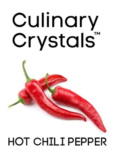 Culinary Crystals - Hot Chili Pepper Flavor Oil Drops