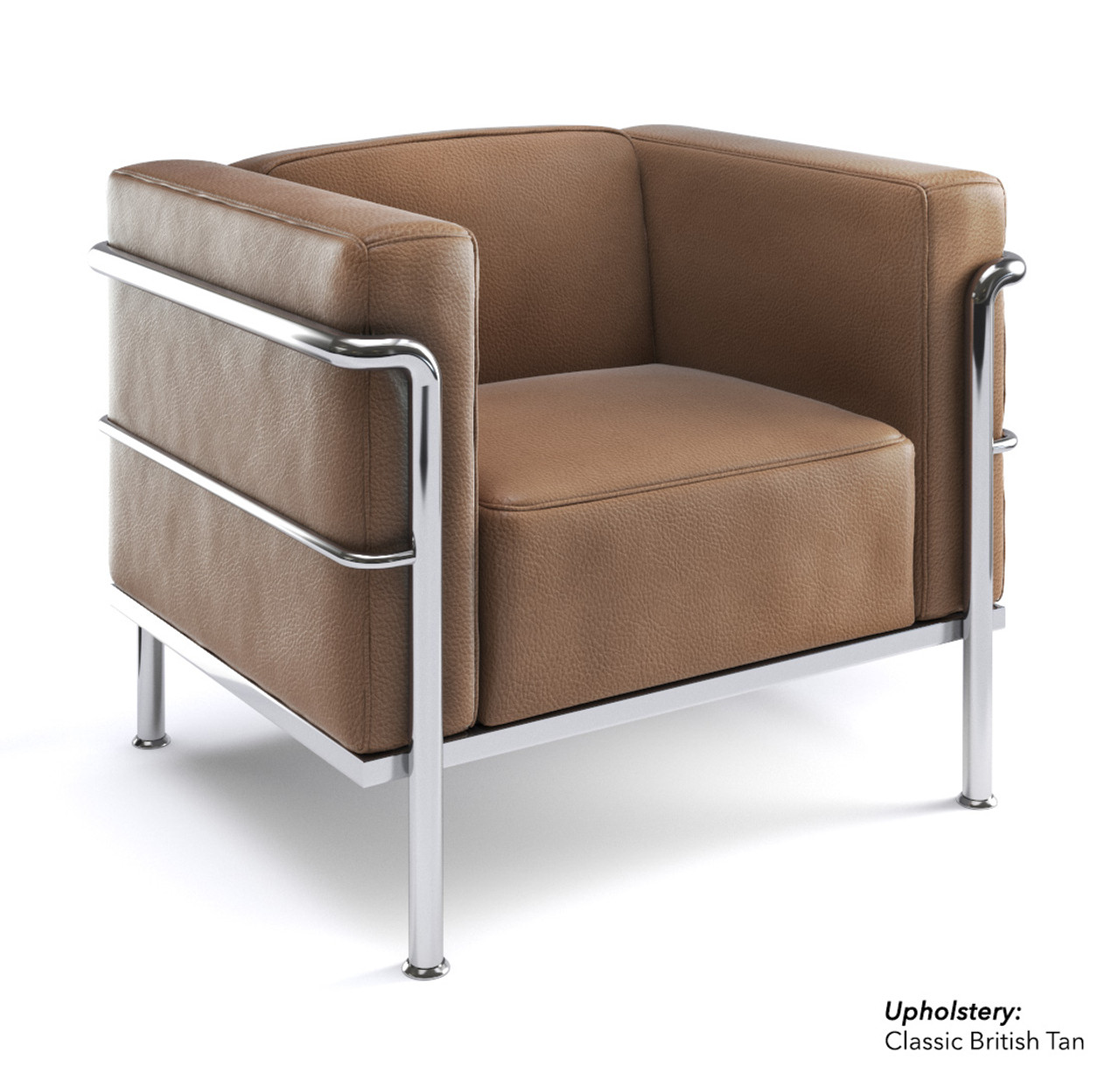 Le corbusier style elegant chair modernlinefurniture