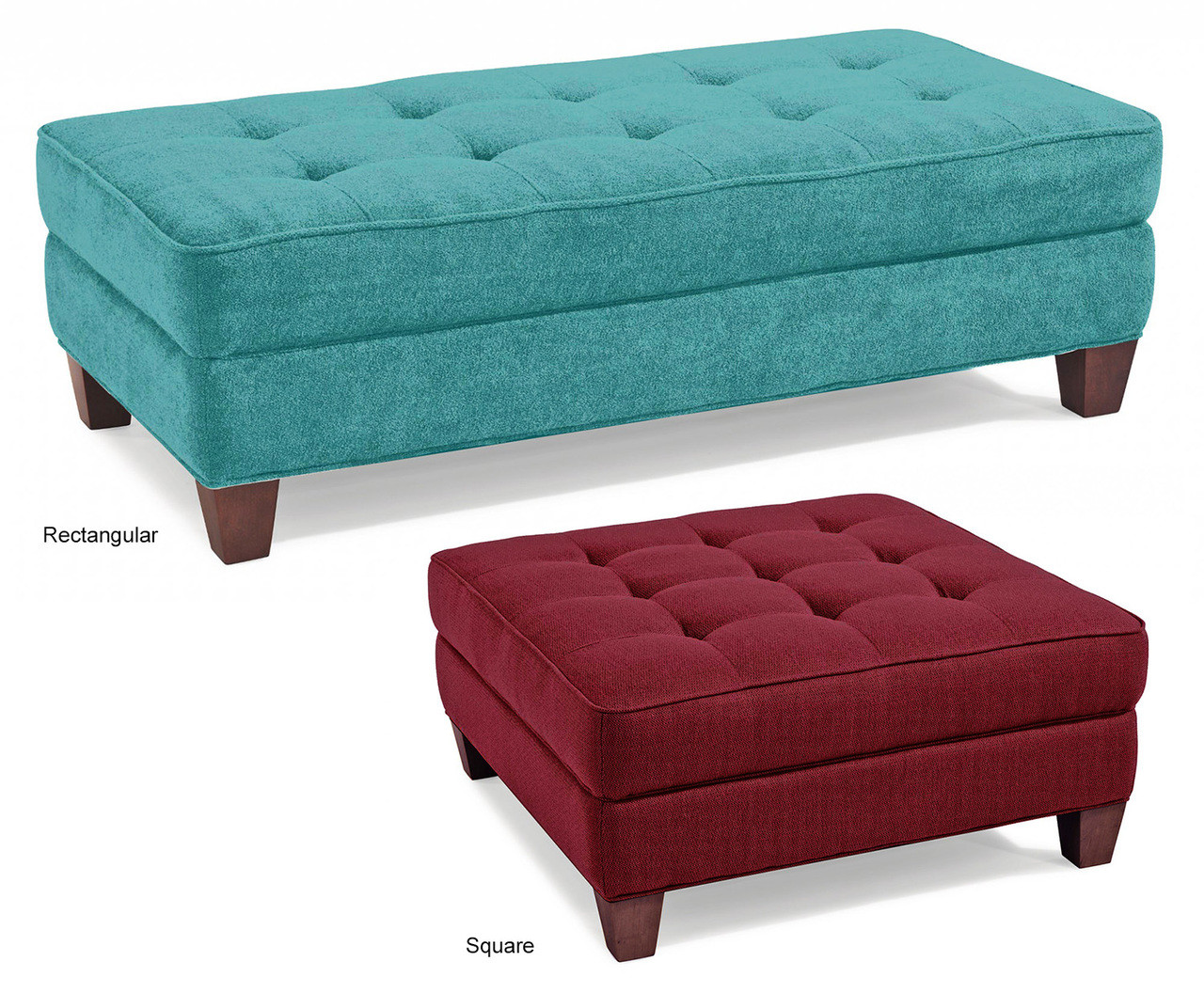 Surprising Ritzy Button Tufted Ottoman Handcrafted In Nj Dailytribune Chair Design For Home Dailytribuneorg