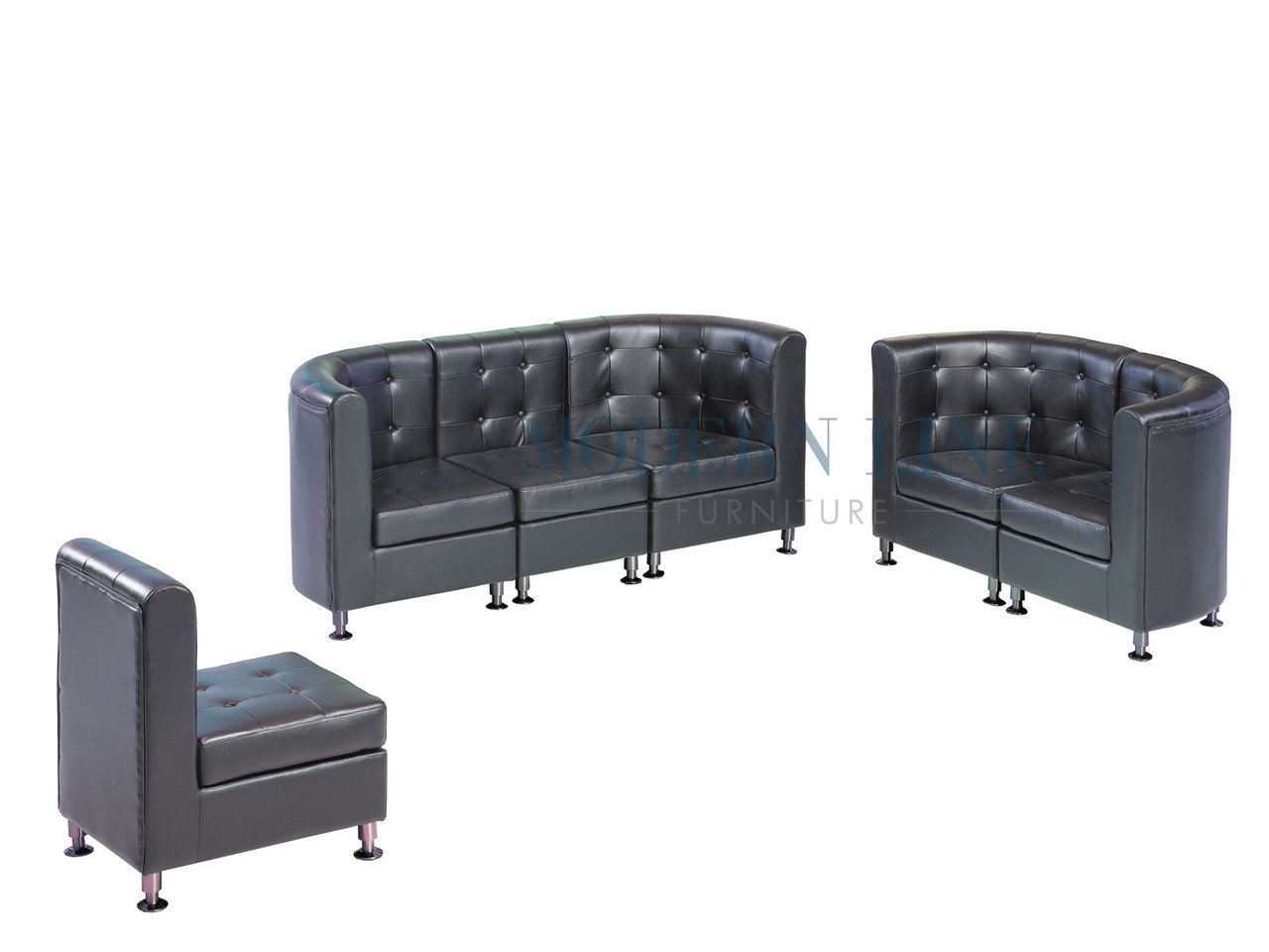 9077 modular furniture sofa loveseat and armless chair made in usa