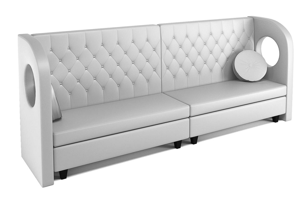 Miraculous Quick Ship Ready Tiara Long Banquette Sofa Machost Co Dining Chair Design Ideas Machostcouk