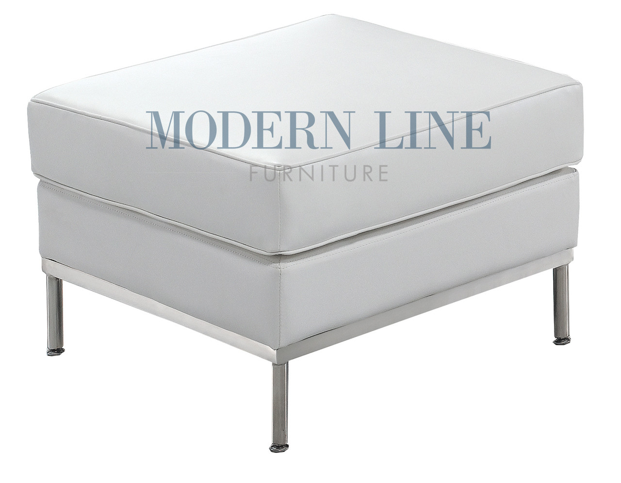 Quick Ship Ready Le Corbusier Style Ottoman Modernlinefurniture