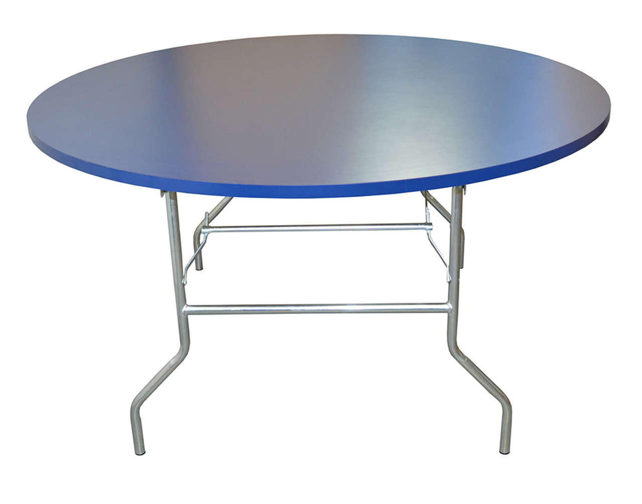 Round Formica® Top with Folding Wishbone Legs Restaurant Table ...