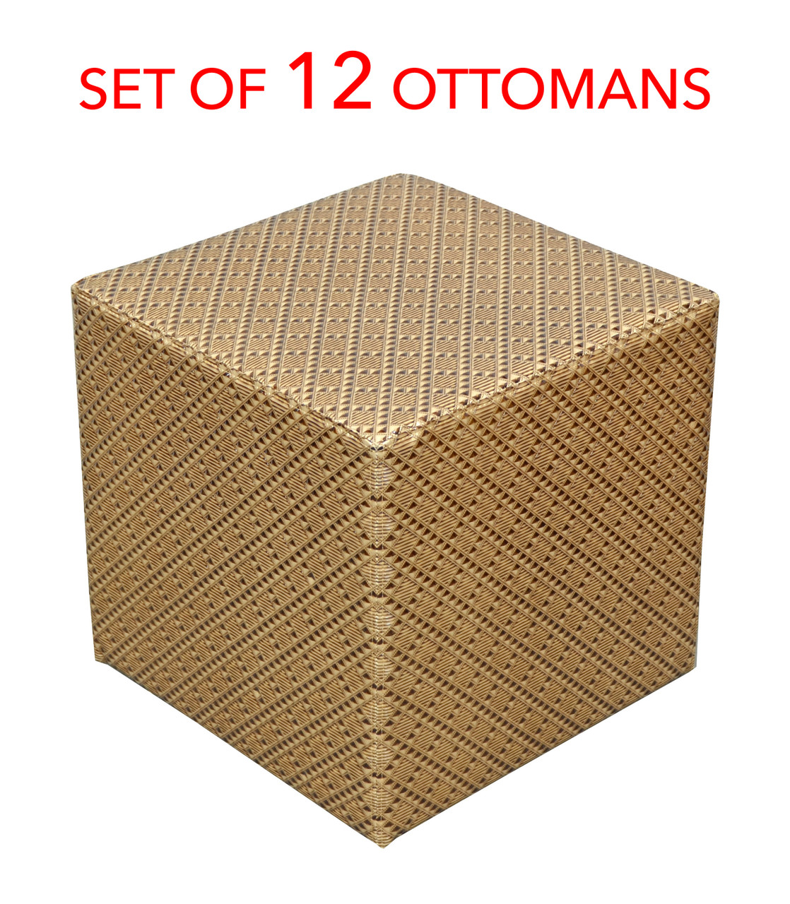 Marvelous Gold Tufted Modern Square Stool Ottoman Height 18 Set Of Twelve Pdpeps Interior Chair Design Pdpepsorg